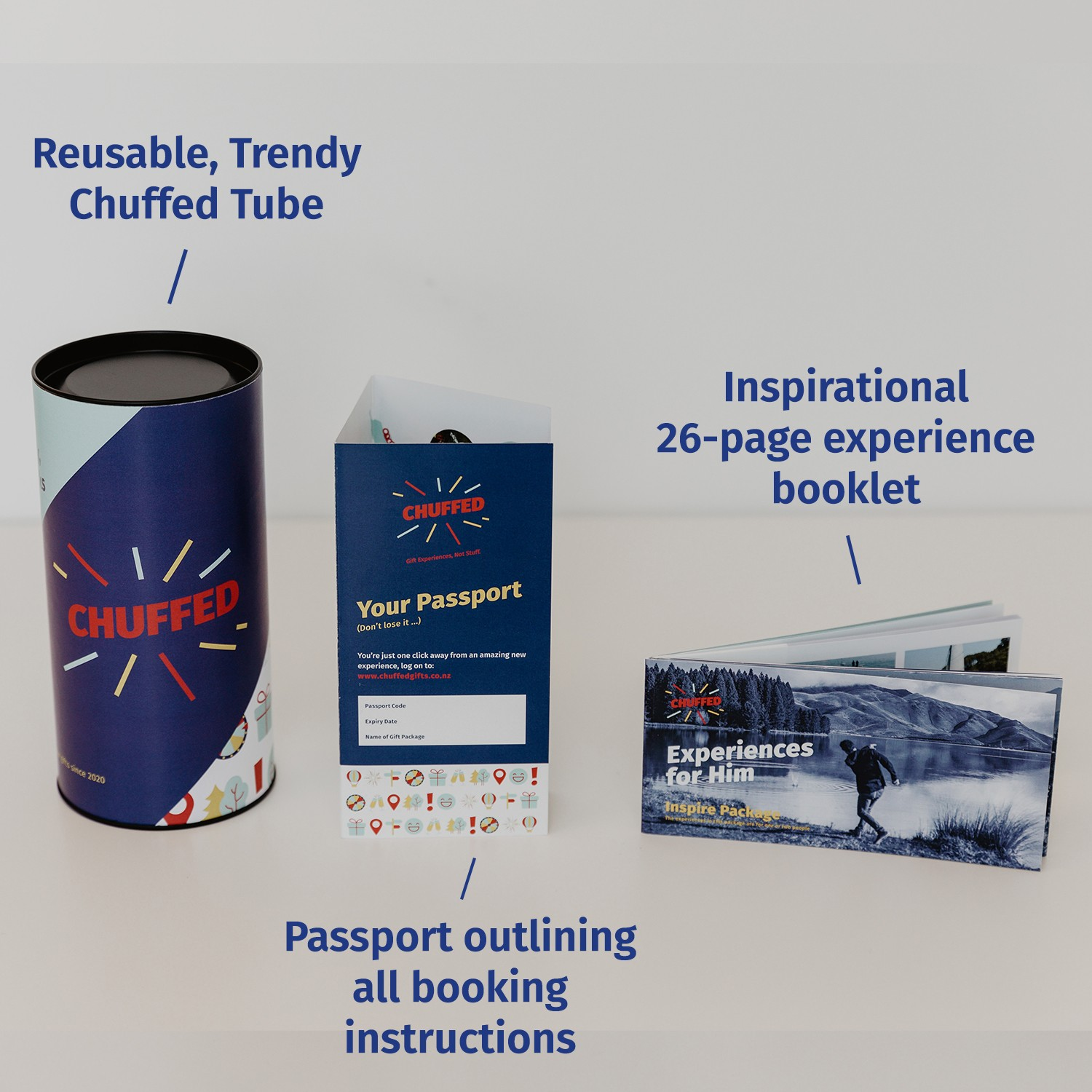 Experiences For Him Inspire Package