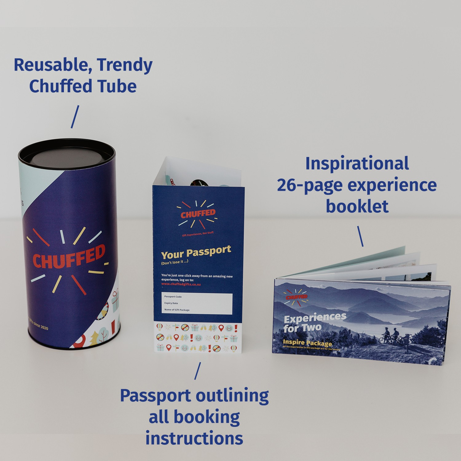 Experiences For Two Inspire Package