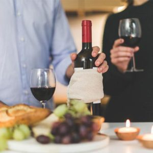 Wine subscription wedding gif for bride and groom
