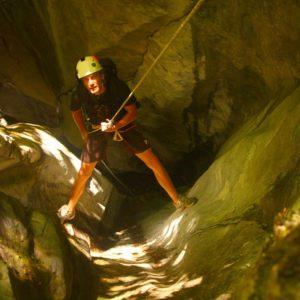 Blue Creek Canyoning Adventure
