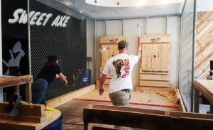 Wellington Axe-Throwing Session