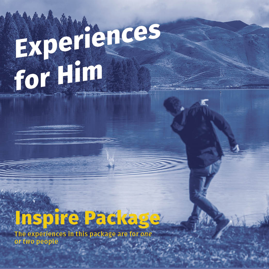 Experiences For Him Inspire
