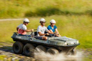Cable Bay Adventure Park Eight Wheel Argo Experience